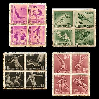 切手_国民体育大会