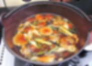 山菜鍋そば