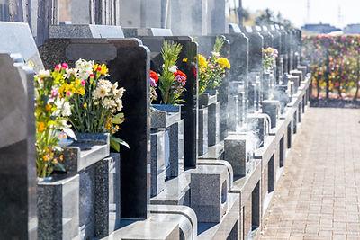 各宗石碑・墓地の建立