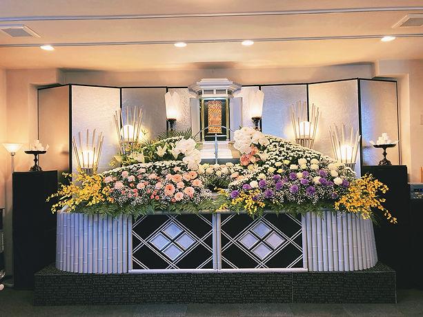 黒崎葬祭祭壇