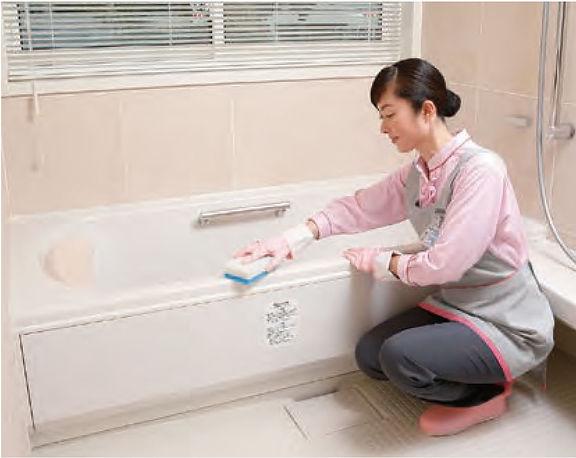 浴室クリーニング1
