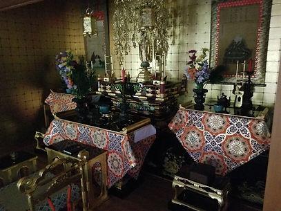 広島市民葬儀の祭壇