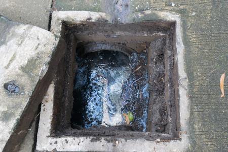排水桝洗浄