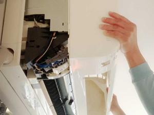 エアコンの分解清掃