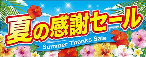 夏の感謝セール