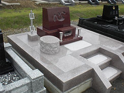 お墓の修理