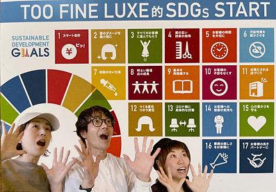 toofine Luxe的 SDGs