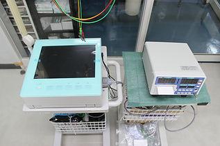 熊本動物病院の心電図と血圧計