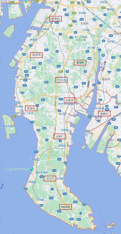 愛知県map