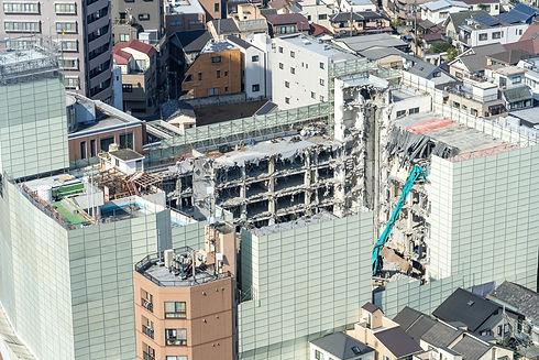 業務内容のビル・マンションの解体