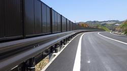 防護柵設置工事・防音壁工事の施工実績
