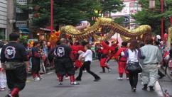 横浜 中華街のじゃ踊