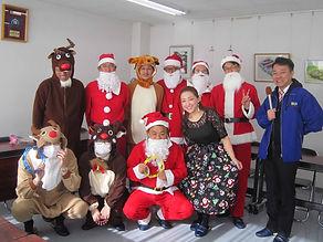 64期陶技学園クリスマス訪問