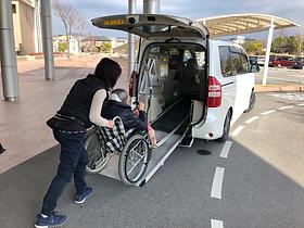 介護タクシーゆずりはの車両設備