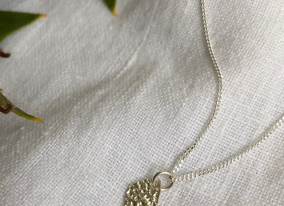 Pebble pendant with 42/45cm Chain