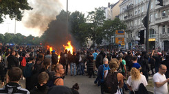 G20 protest in Hamburgh