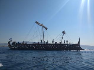 Trireme ship a live museum