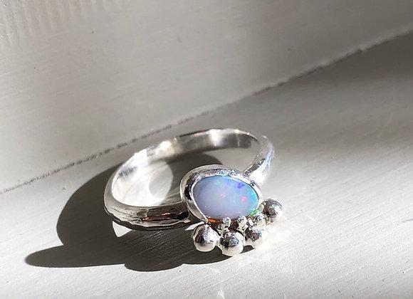 Crown Opal ring Size N
