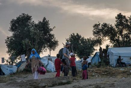 Lesbos Moria Camp