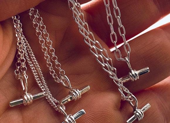 Mini Fob Pendant with chain