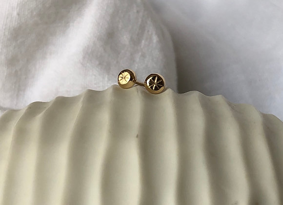 You're a Star 9ct Yellow Gold Studs