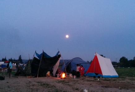 Greece, Idomeni camp