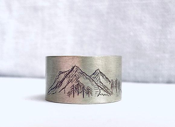 Mountain ring Size X1/2
