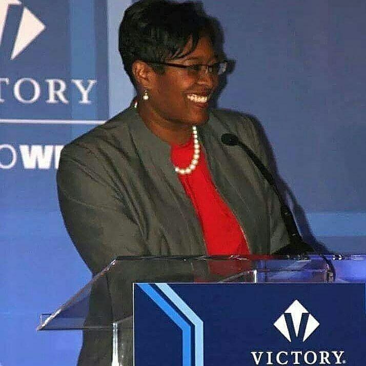 Keisha Waites at Victory