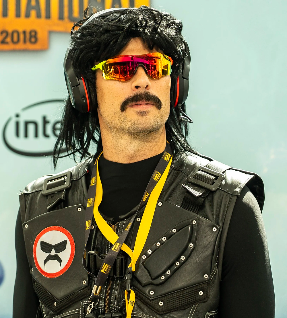 Dr. Disrespect a former Twitch streamer was banned for reasons unknown.