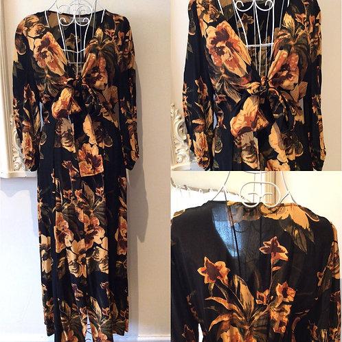 FAITHFULL THE BRAND midi dress