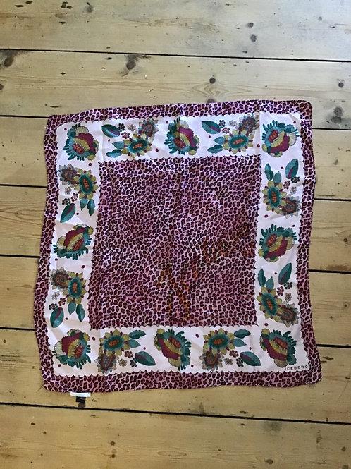 VINTAGE ICEBERG silk scarf