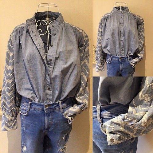AND/OR blouse
