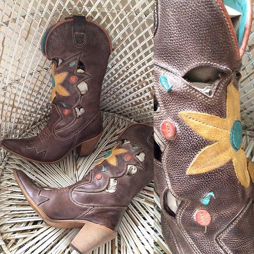 VINTAGE FELMINI cowboy boots