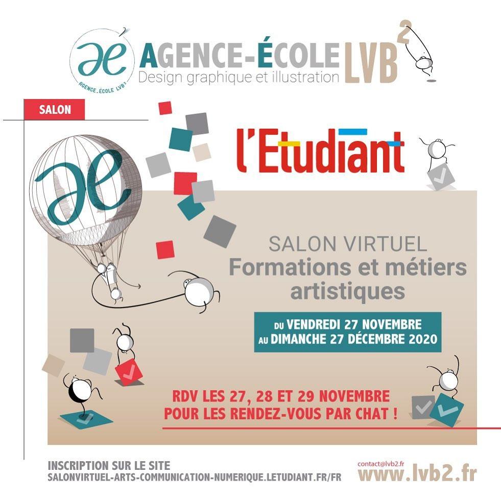 Salon virtuel de l'Etudiant Agence-École design LVB2