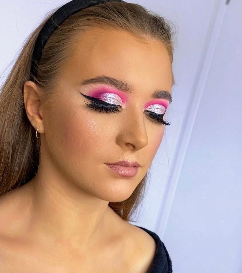 Pink Cut Crease