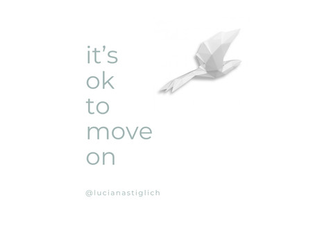 It's ok to move on