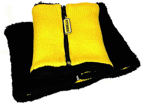 ZipNeck Yellow & Black