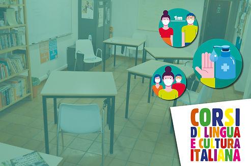 Sicurezza senza covid corsi di italiano