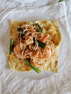 """Easy Stir-fried Pad Thai Wrapped in Eggs Recipe with """"Made In"""" Wok"""