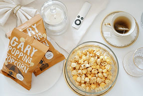 """The best """"Netflix & Chill"""" Gourmet Handcrafted Flavored Popcorn"""