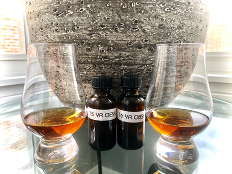 Review: Four Roses -15 yr. OESK, 16 yr. OBSK