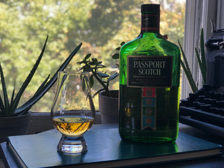 Review: 1980s Passport Scotch