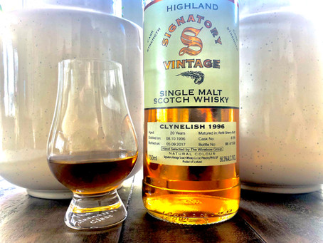 Review: 1996 Clynelish 20 yr. Refill Sherry