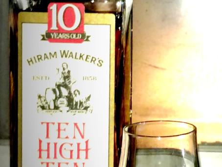 Review: Hiram Walker's Ten High Ten Bourbon (1990)