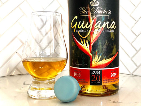 Review: 1998 Guyana 20 yr. - The Duchess