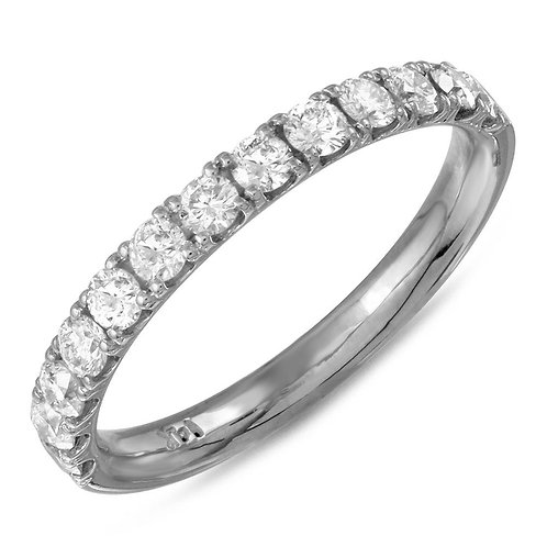 0.50 Carats Diamond Gold Band (2.0mm)