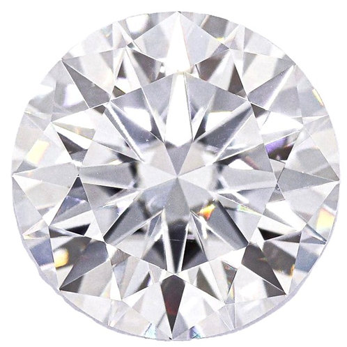 Round Brilliant Cut Moissanite