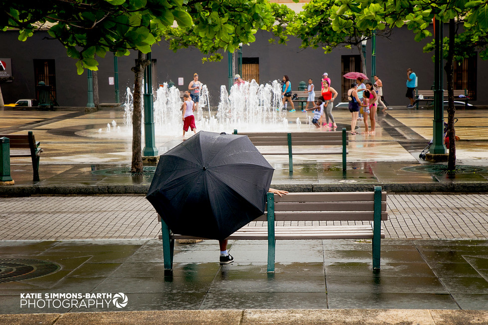 Raining in San Juan