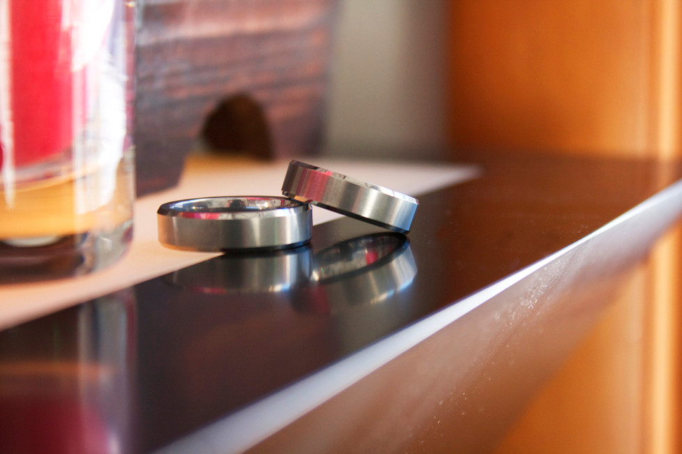 Rings on Table