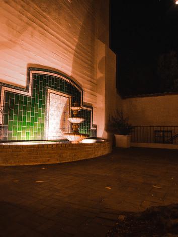 Fountain Courtyard NIGHT